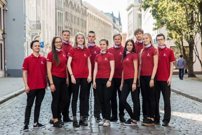 """Latviju konkursā """"EuroSkills"""" pārstāv 12 dalībnieki"""