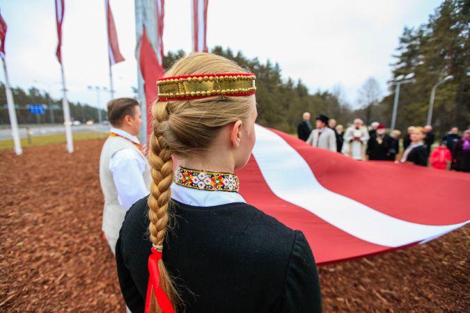 Latvijas proklamēšanas 100. gadadienai veltīto notikumu izlase