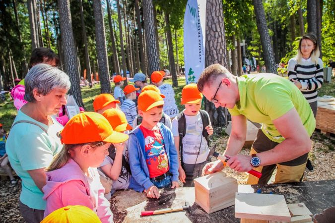 Latvijas Meža dienas Tērvetē