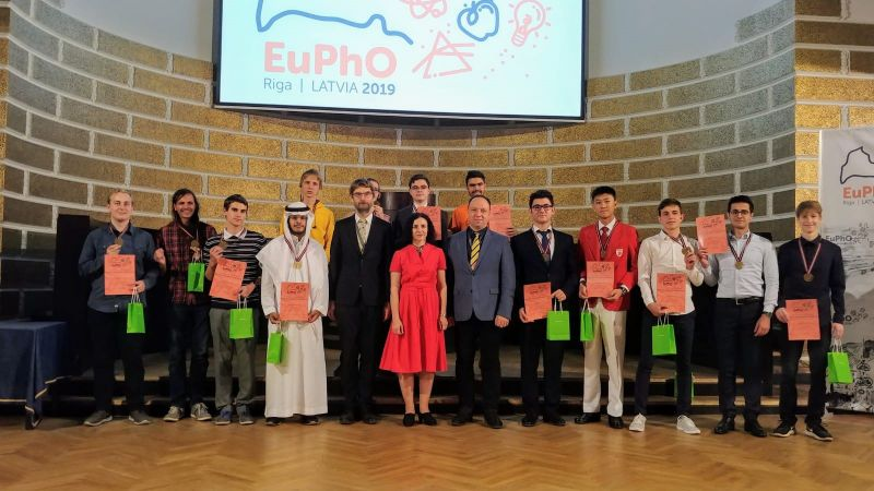 Eiropas fizikas olimpiādē Latvijas jaunieši izcīnījuši sudraba un bronzas medaļas