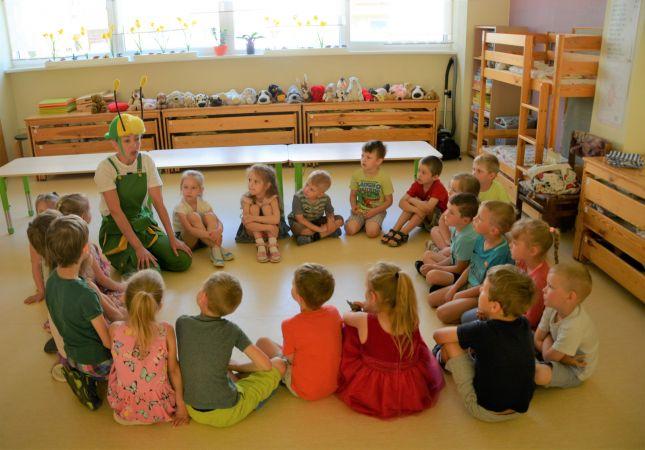 Tapuši jauni vides izglītības materiāli pirmsskolas vecuma bērniem