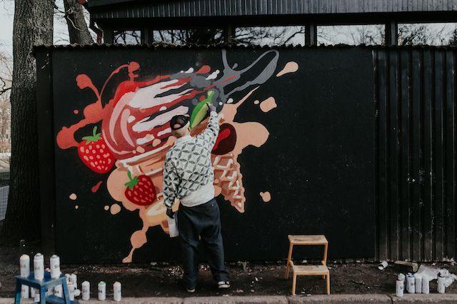Mākslas entuziastus aicina piedalīties Baltijas mēroga ielu mākslas konkursā