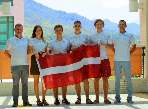 Starptautiskajā ģeogrāfijas olimpiādē Latvijas skolēni izcīna četras medaļas