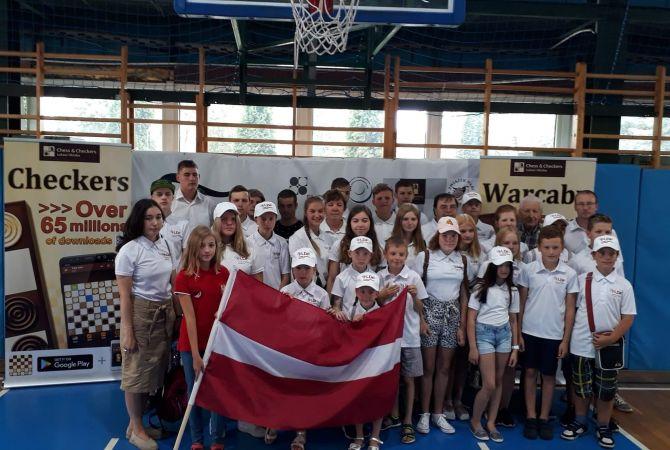 Noslēdzies Eiropas čempionāts jauniešiem 100 lauciņu dambretē