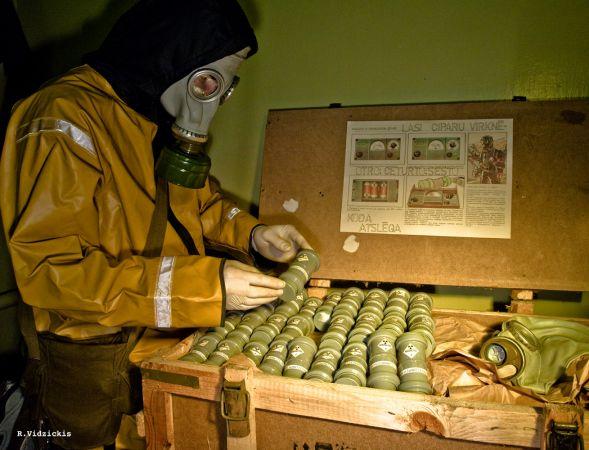 Ekskursija uz  padomju laika slepeno bunkuru, kas būvēts gatavojoties atomkaram!