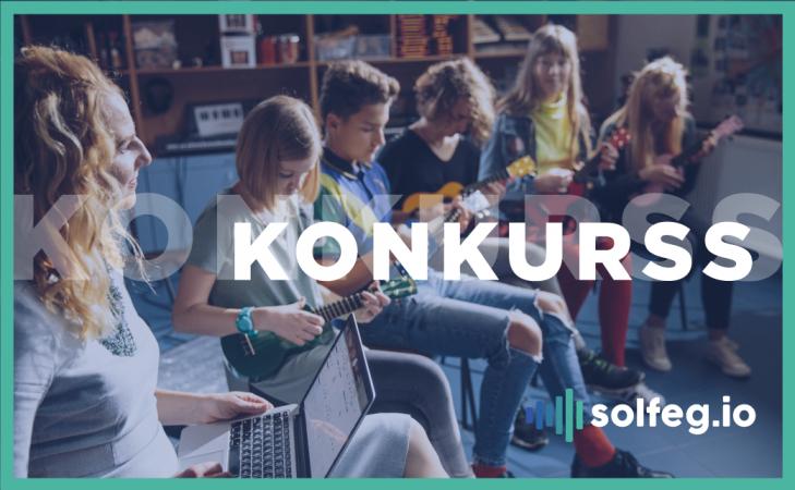 Laimē ukuleles savai klasei - piedalies Solfeg.io konkursā