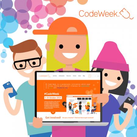 ES programmēšanas nedēļa #CodeWeek – iespēja īstenot idejas!