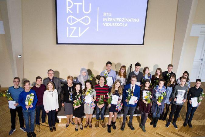 RTU Inženierzinātņu vidusskola aicina 9. klases skolēnus pieteikties inženierzinātņu olimpiādei