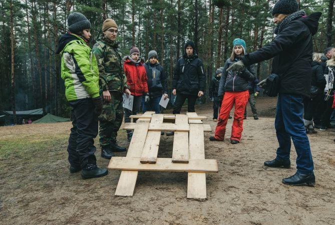 Siguldā uz ikgadējo ziemas nometni pulcēsies mazskauti un guntiņas no visas Latvijas