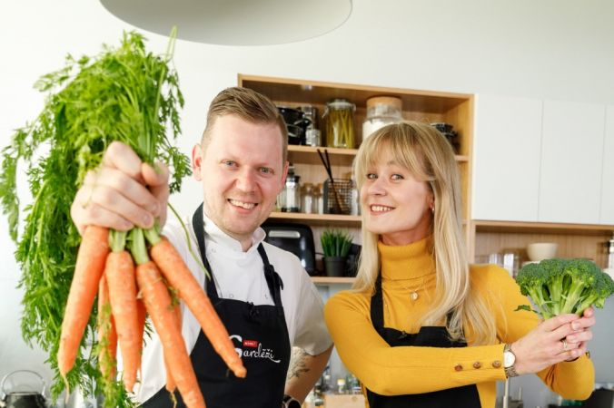Mājturība Rimi virtuvē – video lekcija par uztura piramīdu