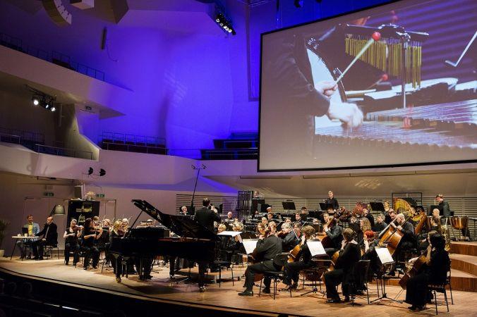 Iespēja par brīvu noskatīties izglītojošu orķestra koncertu bērnu auditorijai