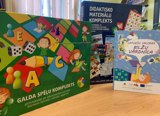 Atbalsta materiāli latviešu valodas apguvei