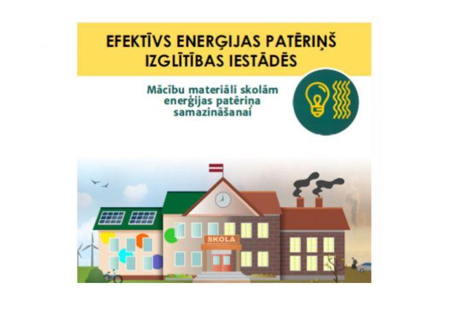 Izglītojošs materiāls ceļā uz energoefektīvu skolu