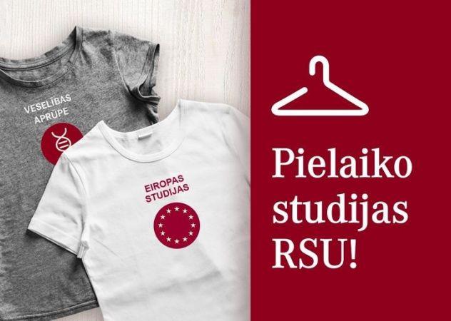 """RSU aicina vidusskolēnus tiešsaistē """"pielaikot studijas"""""""