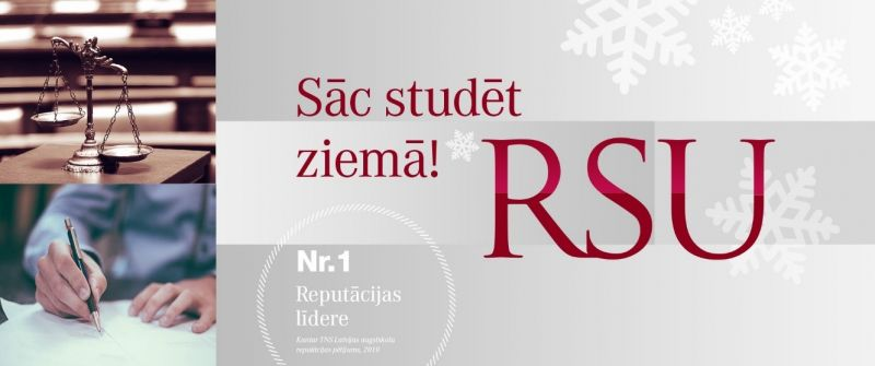 RSU šonedēļ uzsākusi ziemas uzņemšanu