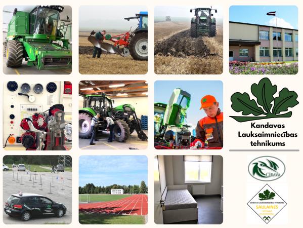 Profesija, kas palīdzēs uzplaukt Latvijas laukiem – lauksaimniecības mehanizācijas tehniķis