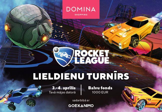 """Domina Shopping"" aicina uz ""Rocket League"" Lieldienu turnīru"