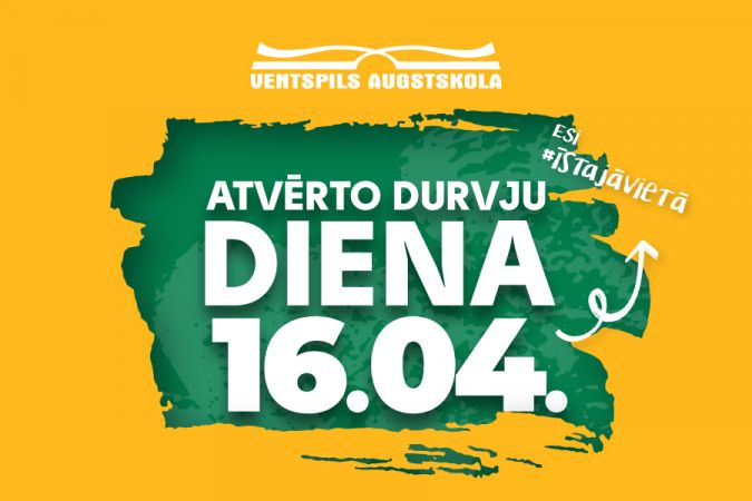 Ventspils Augstskolas Atvērto durvju diena notiks 16. aprīlī