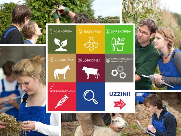 Lauksaimniecība, mežsaimniecība – stabilas nākotnes profesijas!