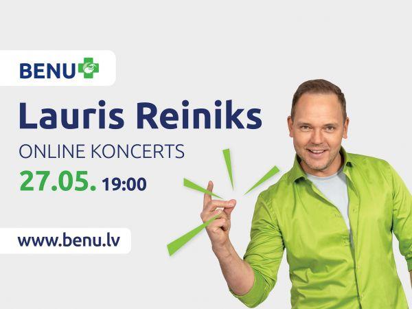 Nosvini vasaras sākumu kopā ar Lauri Reiniku!
