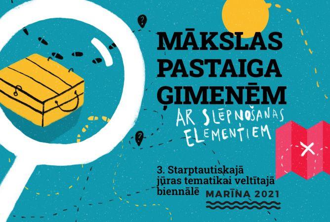 """Biennāles """"Marīna 2021"""" programma bērniem"""
