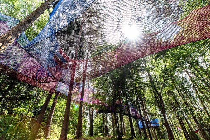 Ekskursija Līgatnē: Tīklu parks, Mini Zoo un pikniks ar kazām, pārgājieni mežā un siltas pusdienas!