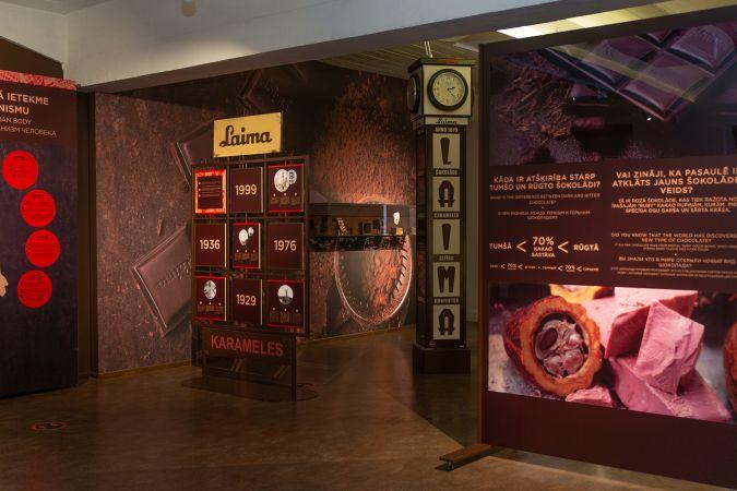 """""""Laimas"""" šokolādes muzejā šokolādi var izbaudīt ar visām maņām – ieraudzīt, sagaršot, sadzirdēt un sajust!"""