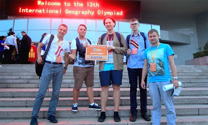 Latvijas skolēnu dalība starptautiskajā ģeogrāfijas olimpiādē