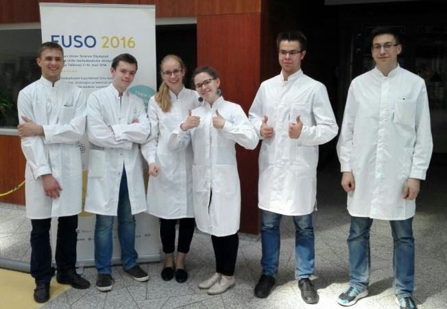 Latvijas skolēniem ES Dabaszinātņu olimpiādē bronzas medaļas