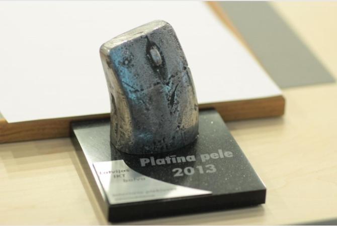 """Nosaukti IKT gada balvas """"Platīna pele 2014"""" finālisti"""