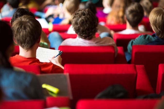 """Turpmāk kinoteātrī """"Splendid Palace"""" notiks īpaši seansi skolotājiem"""