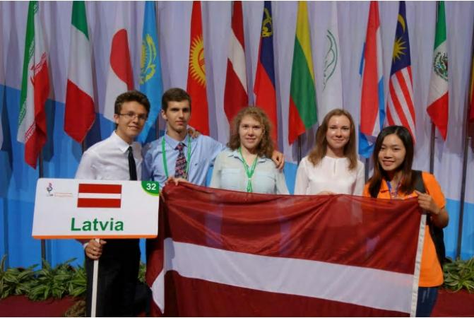 Latvijas skolēnu panākumi 27. starptautiskajā bioloģijas olimpiādē