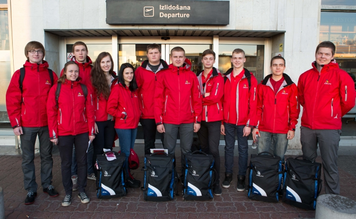 Latvijas jaunieši dodas uz prasmju konkursu Francijā