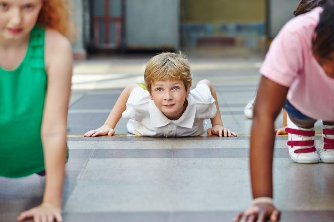 Trešo klašu skolēni sportos cītīgāk
