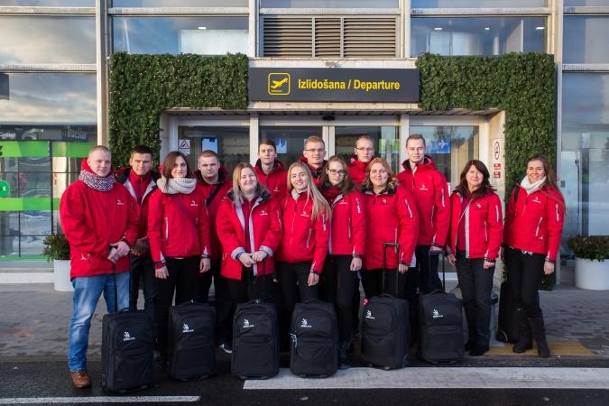 Latvijas jaunieši dodas uz  profesionāļu meistarības konkursu