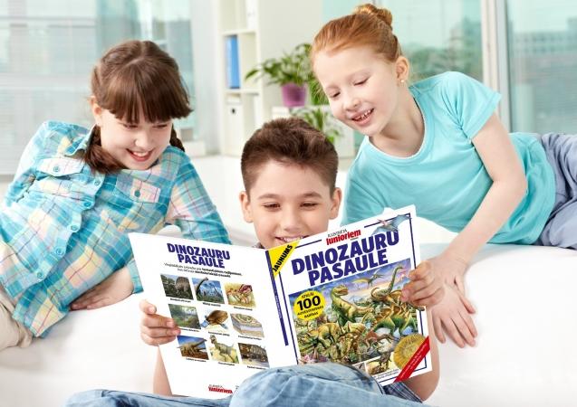 Tapusi nebijusi žurnālgrāmata par dinozauru pasauli