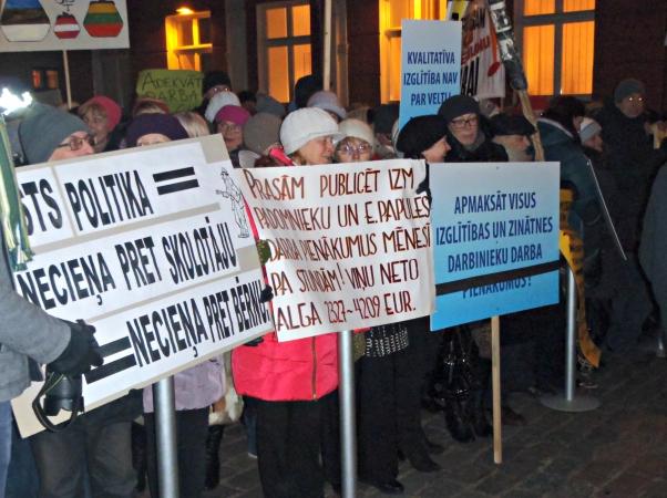LIZDA saņēmusi 99 skolu pieteikumus streika rīkošanai