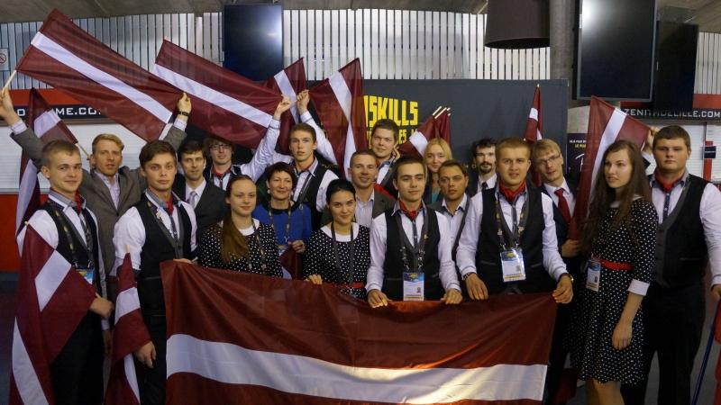 Godina EuroSkills 2014 Latvijas nacionālo komandu