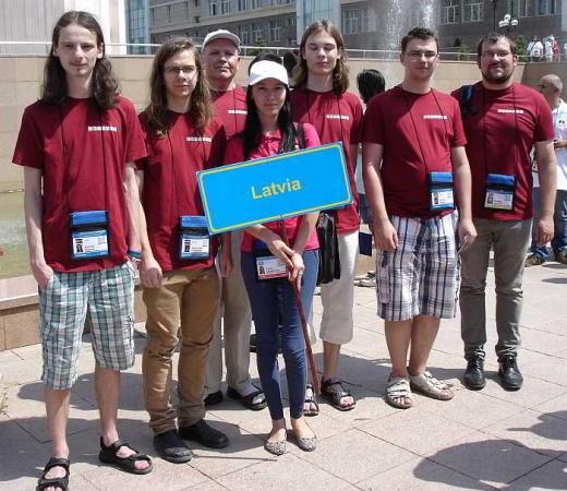 Latvijas skolēni pasaules informātikas olimpiādē izcīna medaļas