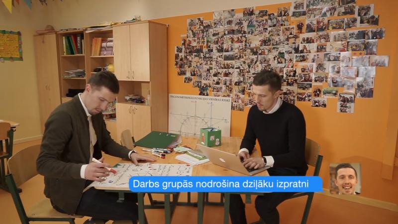 Skolotājs: Arī matemātikas stundās var mācīties prasmi sadarboties