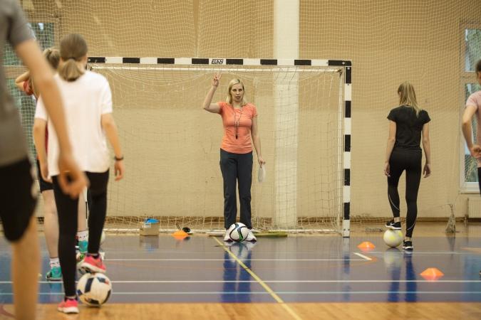 Gada sporta skolotāja – Signe Lūsiņa no Valmieras sākumskolas
